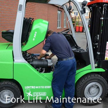 Fork Lift Maintenance