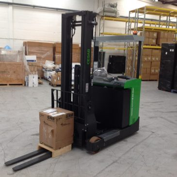 New Lektro Supplied CESAB Fork Lift Truck at LHR Global